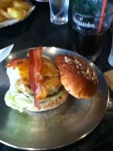 This was the bacon cheeseburger that took the best of my retirement years away from me... It was worth it.