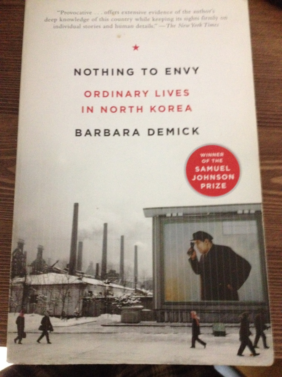 nothing to envy Readers' questions about nothing to envy: ordinary lives in north korea 8 questions answered.