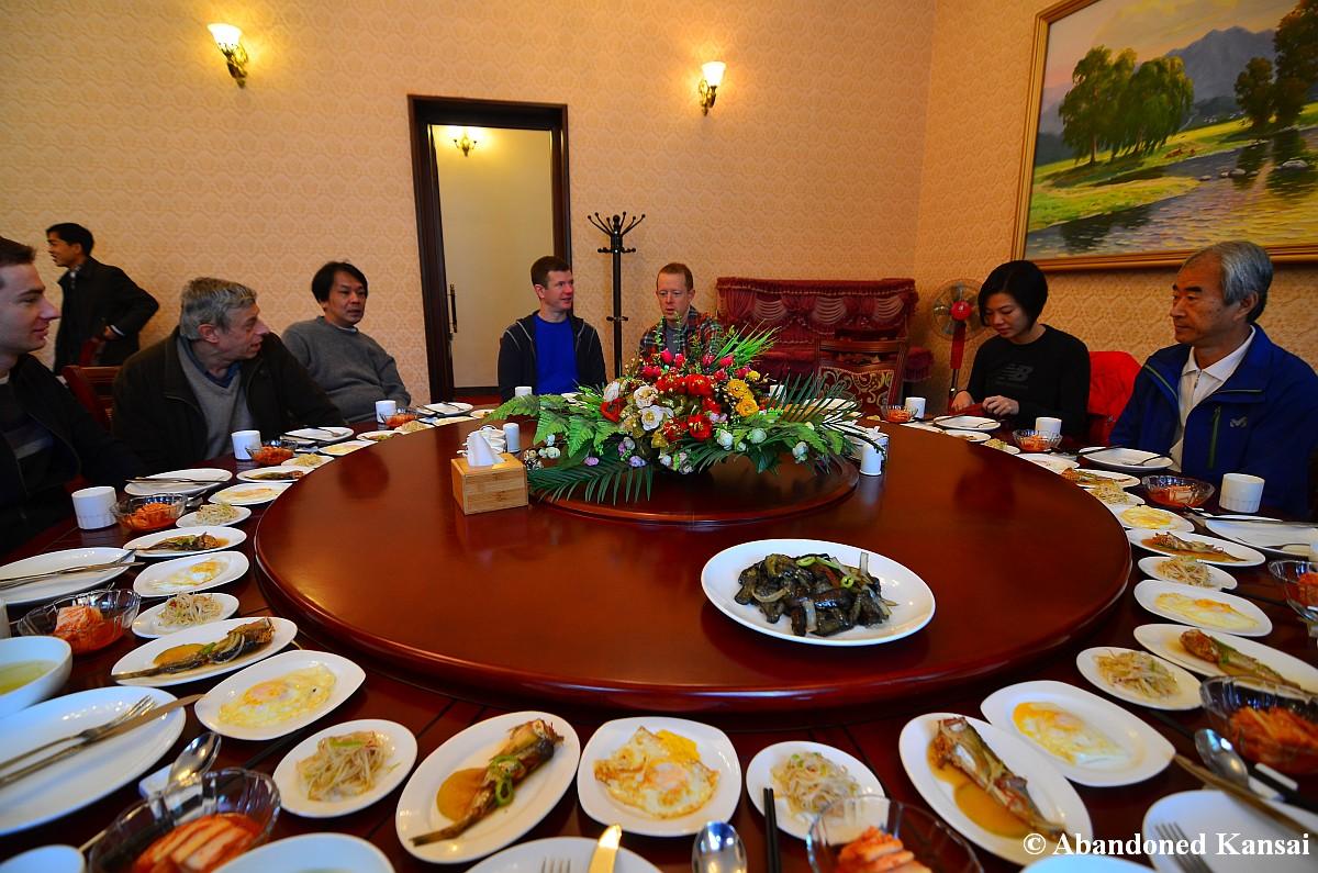 Breakfast For Tourists In Rason, North Korea
