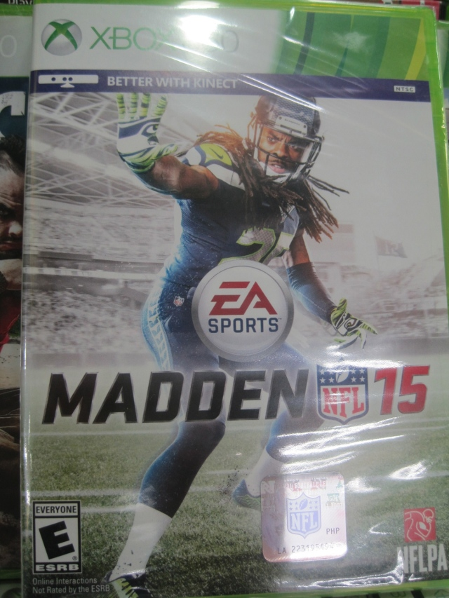 70,000KRW for Madden 15. Always room for negotiation though!
