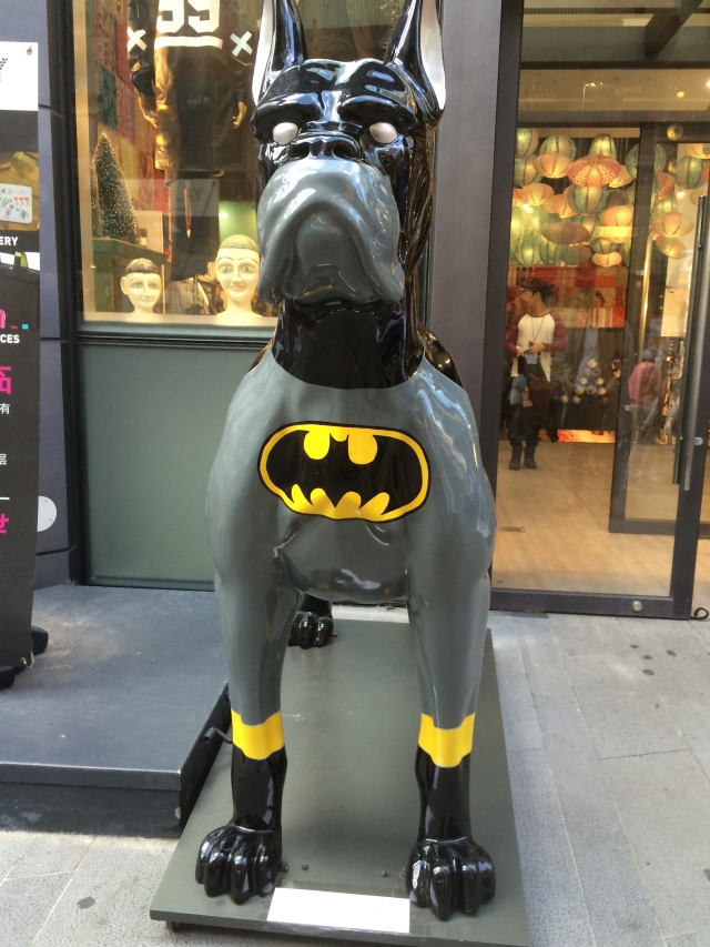 Batman's trusty companion. Somewhere Robin is crying..
