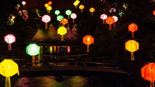 lanterns - cheonggyecheon